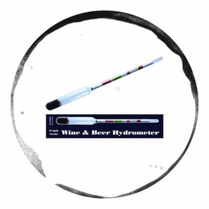 Better Brew Hidrometru Pentru Bere sau Vin cu Scală Triplă