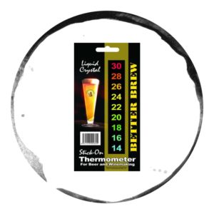 Better Brew Termometru LCD cu Adeziv cu Cristale Lichide