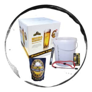 Kit Bere Starter Complet Bulldog Micro Brewery Lager 23L