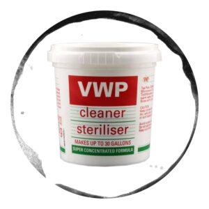 VWP Dezinfectant 2 in 1 pentru Igienizarea Sticlelor 100g