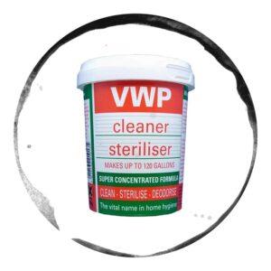 VWP Dezinfectant 2 in 1 pentru Igienizarea Sticlelor 400g
