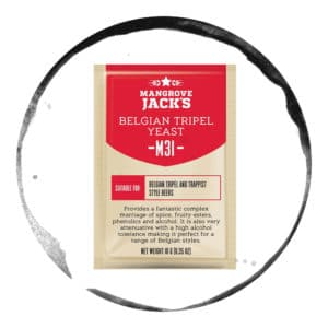 Drojdie de bere Mangrove Jack's M31 Belgian Triple