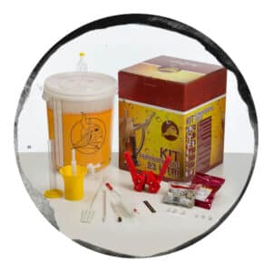 set complet fermentator accesorii homebrewing